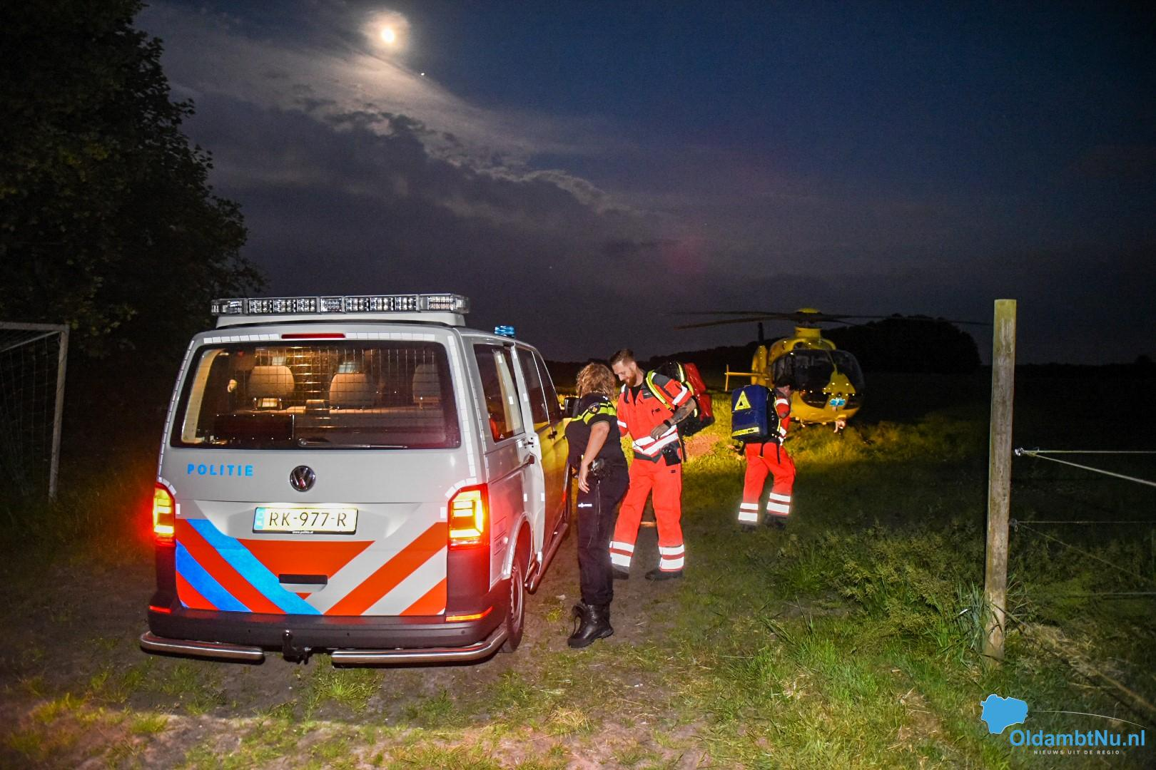 Photo of Traumahelikopter ingezet voor medisch noodgeval in Scheemda
