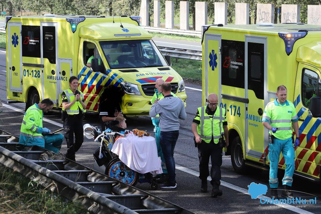 Photo of Geuko van Lang raakt betrokken bij verkeersongeluk A7