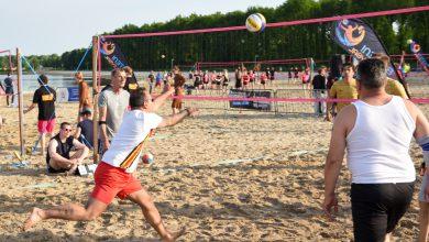 Photo of Streep door 3-daags volleybalevenement