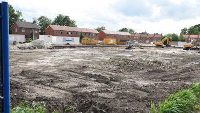 Photo of Sloopwerkzaamheden voltooid, grondwerken voor brede school van start