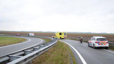 Photo of Oprit A7 bij Scheemda tijdelijk afgesloten wegens ongeval