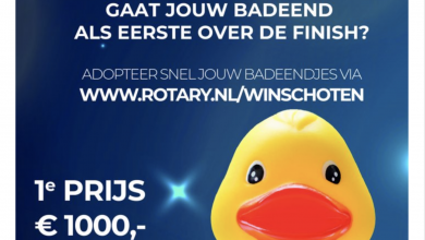 Photo of Adopteer een badeend en win 1000 euro tijdens Duckrace
