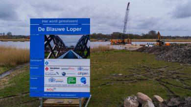 Photo of Bouw van de Blauwe Loper ligt op schema