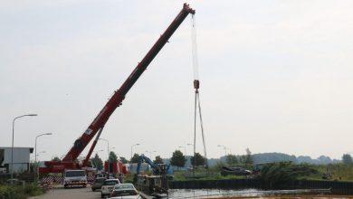 Photo of Ook het laatste scheepswrak uit haven Winschoten verwijderd