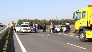 Photo of UPDATE: N33 deels gestremd wegens ongeval