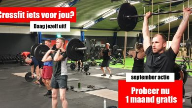 Photo of Meerdere instapacties in september bij Crossfit Winschoten