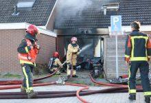 Photo of Brandweer Winschoten ingezet bij forse woningbrand in Oude Pekela