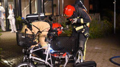 Photo of Wederom brand met elektrische fiets in verpleegcentrum
