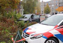 Photo of Politieachtervolging eindigt in voortuin in Winschoten