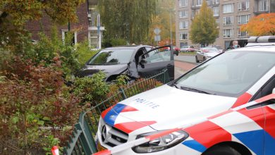 Photo of Politieachtervolging eindigt in voortuin in Winschoten (video)