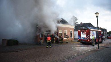 Photo of UPDATE: Voormalige smederij uit 1900 raakt zwaar beschadigd door brand (Video)