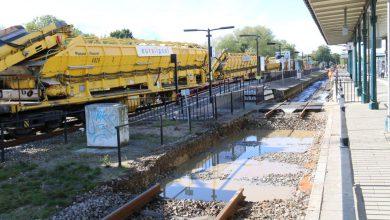 Photo of ZIEN: Zo zagen de werkzaamheden aan het spoor er van bovenaf uit (video)