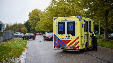 Photo of Gewonde bij verkeersongeval op Papierbaan in Winschoten
