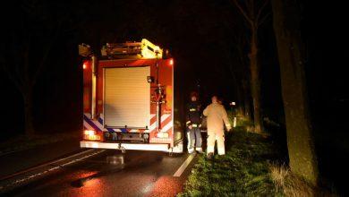 Photo of Brandweer ingezet voor stormschade Gereweg Nieuwolda