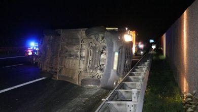 Photo of Twee gewonden bij ongeval op de A7