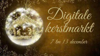 Photo of Geef je op voor de digitale kerstmarkt van 7 t/m 13 december