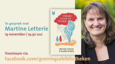 Photo of Ontmoet schrijfster Martine Letterie online