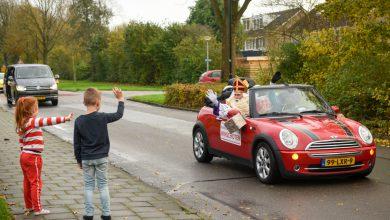 Photo of Fotoserie: Sinterklaas brengt toch bezoek aan Winschoten