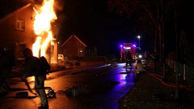 Photo of UPDATE: Gewonde bij uitslaande woningbrand; één bewoner nog vermist