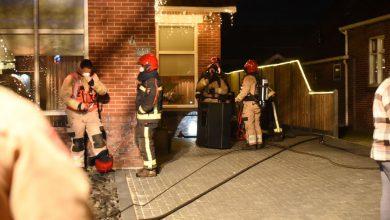 Photo of Brandweer Winschoten en Pekela blussen schoorsteenbrand