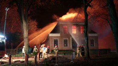 Photo of Monumentaal pand 'Het Wapen van Oudeschans' verwoest na brand (video)