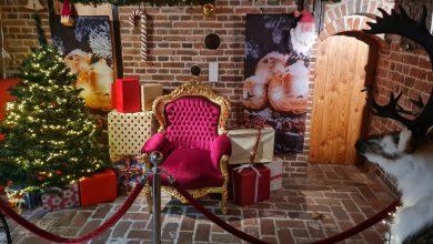 Photo of De Kerstman brengt een bezoek aan Winschoten