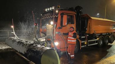 Photo of Rijkswaterstaat strooide zaterdagnacht 833 ton zout in Noorden