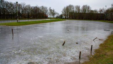 Photo of IJsbaan Nieuwolda afgelopen weekend zwaar beschadigd