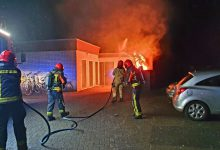 Photo of Containerbrand beschadigt woning in Winschoten