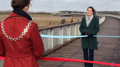 Photo of Pieter Smitbrug tussen Winschoten en Blauwestad geopend (video)
