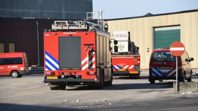 Photo of Middelbrand bij Solid Solutions in Bad Nieuweschans