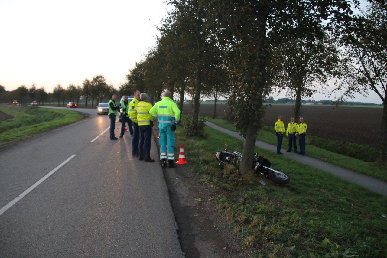 Photo of Regio: 22 jarige motorrijder gewond in Bellingwolde