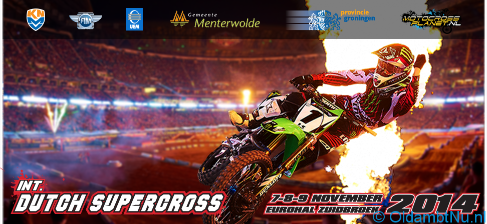 Photo of 7, 8 én 9 November DUTCH SUPERCROSS 2014